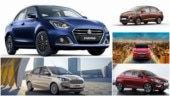 BS6 Maruti Suzuki Dzire vs Hyundai Aura vs BS6 Honda Amaze vs BS6 Ford Aspire vs BS6 Tata Tigor: Spec comparison
