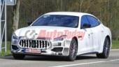 Maserati Quattroporte facelift undergoes testing