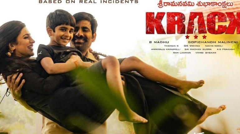 Krack: Ravi Teja Unveils New Poster With Shruti Haasan. See Pic - Movies  News