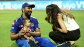 She does it better than me: Rohit Sharma's daughter imitates Jasprit Bumrah's bowling action