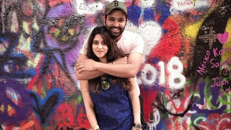 With Ritika being around, it makes my job easier: Rohit Sharma - Sports News