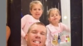 David Warner debuts on TikTok after request from his 5-year-old daughter