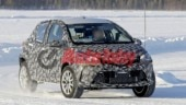 Toyota Yaris-based SUV spotted testing