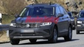 Volkswagen Tiguan facelift spotted with minimum camouflage
