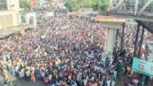 Photos, videos show chaos at Mumbai stations as migrants pack their bags to leave Maharashtra