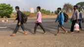 Migrants on the move: Loom workers start long journey from Maharashtra's Bhiwadi to UP, Nepal on foot