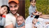 Salman Khan's nephew and niece, Ahil and Ayat, teach dad Aayush Sharma to be happy. See pics