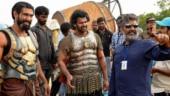 3 years of Baahubali 2: Prabhas shares BTS pic from sets with SS Rajamouli and Rana Daggubati