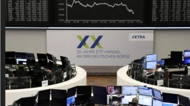 Global stocks turn negative as virus death toll mounts