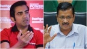 Gautam Gambhir, Arvind Kejriwal feud over Covid-19 fund. Don't need money, says CM. Cricketer offers PPE kits