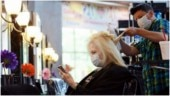 Salon in Georgia tests limits of social distancing as state reopens after coronavirus lockdown