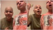 Girl shaves head and eyebrows for her cancer-patient sister. Internet is in tears