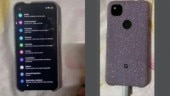Google Pixel 4a leaked images show off punch-hole display, fingerprint sensor at back