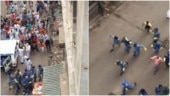 WATCH   Mob chases, pelt stones at police for enforcing lockdown in Howrah red zone