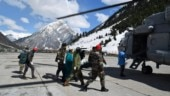 Army airlifts pregnant lady stranded in J&K's Dawar for last four days