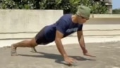 Coronavirus quarantine: Milind Soman nails 20 clap push-ups in new workout video