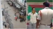 Hyderabad: Videos capture police thrashing autorickshaw drivers as lockdown gets stricter