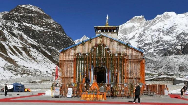 Portals of Kedarnath temple open; first puja performed on behalf ...
