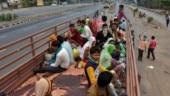 Coronavirus in India: 61 migrants caught fleeing Mumbai in truck meant to carry essential goods