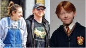 Harry Potter actor Rupert Grint is expecting his first child with girlfriend Georgia Groome