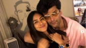 Kushal Tandon shares pic with Mrunal Thakur, calls her love of his life