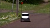 Coronavirus lockdown: Shopping robots deliver free groceries to NHS workers in English town