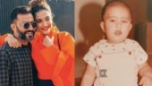 Sonam Kapoor calls her husband chubby hubby in childhood pic. Anand Ahuja has a hilarious response