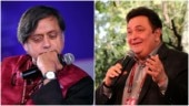 Shashi Tharoor remembers school senior Rishi Kapoor with emotional note: He has gone to a better world