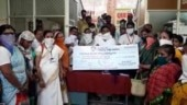 Andhra MLA distributes cheques to large crowd, no social distancing maintained