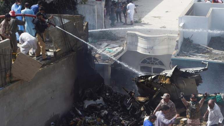 Pakistan plane crash: 37 dead as plane with 99 onboard crashes in ...