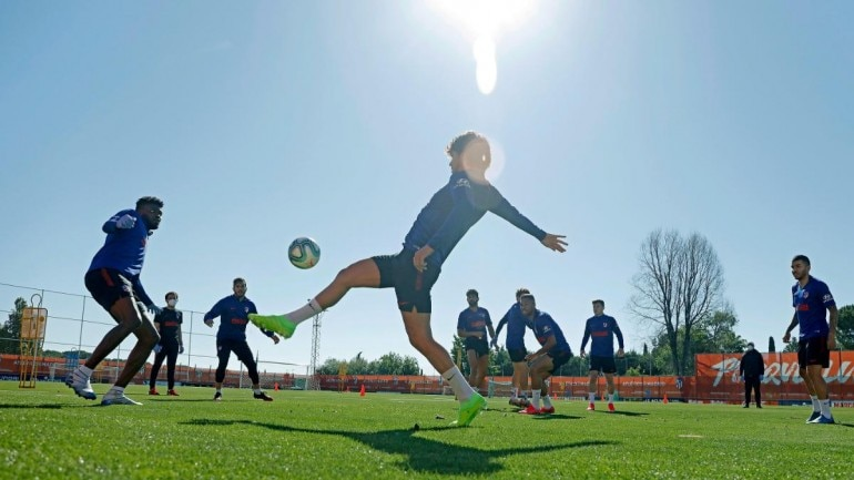 All Spanish league clubs can begin group training sessions this week despite lockdown restrictions in operation