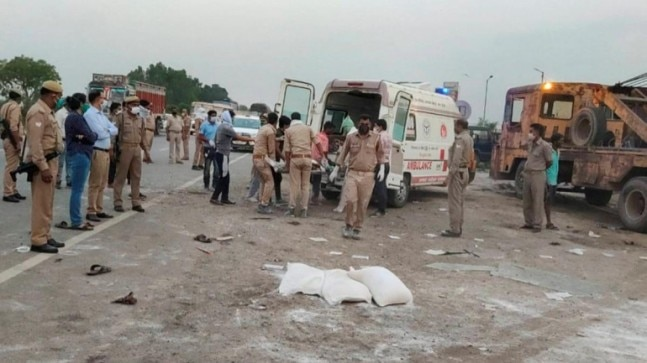 Auraiya road accident: With deaths of two more workers, death toll rises to 26