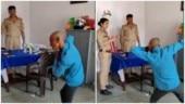 UP cops make man dance to Sapna Chaudhary's Teri Aakhya Ka Yo Kajal for violating lockdown. Viral video