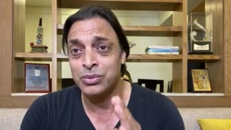 Former Pakistan pacer Shoaib Akhtar (Twitter Image)