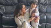 Sania Mirza posts adorable picture with son Izhaan on Eid. See pic