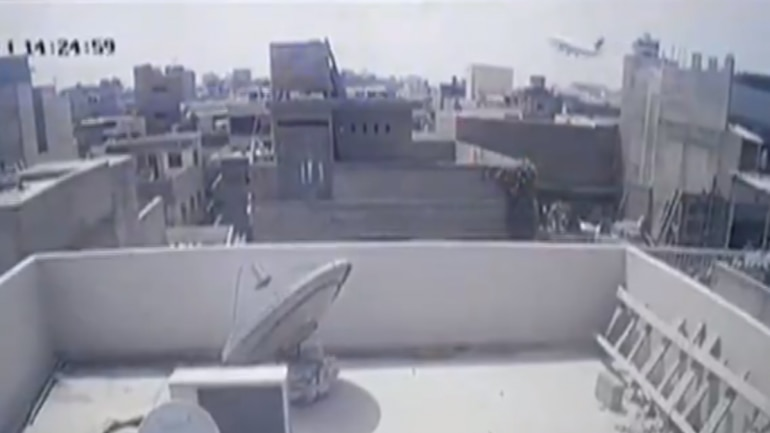 Watch: CCTV captures moment Pakistan flight crashed in Karachi ...