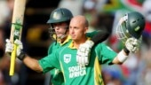 Herschelle Gibbs to auction bat used in 438 game to aid fight against Covid-19