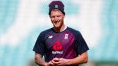If you smash a window don't forget to run from your wife: Stokes does catching practice against house wall