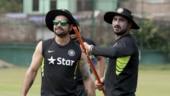 Building kamp rahi magar thodi thodi: Virat Kohli pokes fun at Harbhajan Singh's workout video
