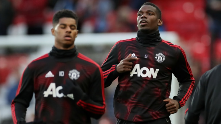 Paul Pogba and Marcus Rashford have recovered from their injuries