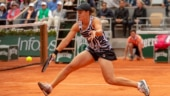 With French Open 2020 postponed due to Covid-19, defending champion Ash Barty practices on clay court