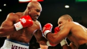 Boxing great Evander Holyfield follows in Mike Tyson's footsteps by posting training video
