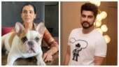 Samantha posts pic with puppy Hash. Arjun Kapoor calls him handsome
