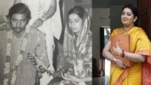 Smriti Irani wishes parents on 45th wedding anniversary in her special style. Seen yet?
