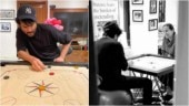 Anil Kapoor is bonding with wife Sunita Kapoor over a game of carrom in quarantine. See pics