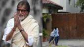 Big B shares pics of sanitation workers outside Jalsa: Kaun kehta hai well-wisher meetings band ho gayi
