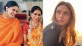 Deepika Padukone is a spitting image of mom Ujjala in saffron. Aditi Rao Hydari agrees