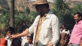Babil shares old pics of Irrfan with school kids: They would meet him whenever it was farmhouse time