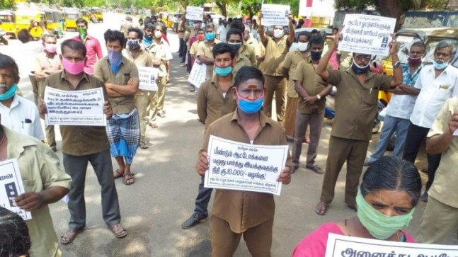 In locked down Chennai, cabbies, auto drivers tell a tale of misery and joblessness