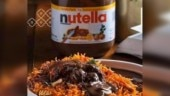 Photo of Nutella Biryani goes viral. Internet is in a state of shock
